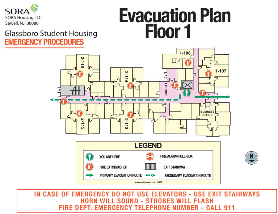 Emergency Evacuation Plan Template For Business Ideal